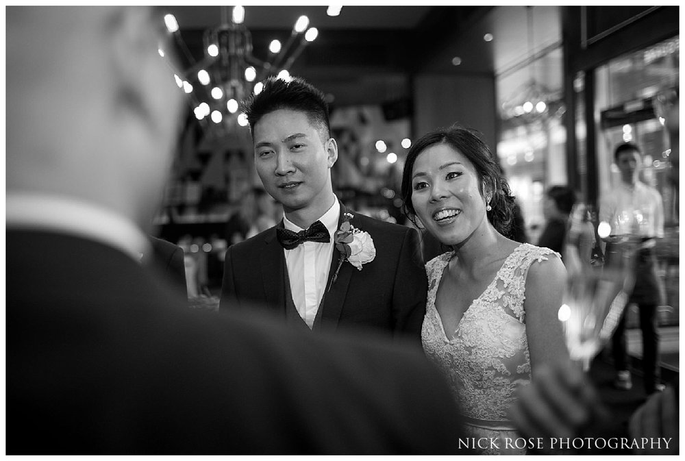 Chinese wedding reception at the Refinery in New Street Square in London
