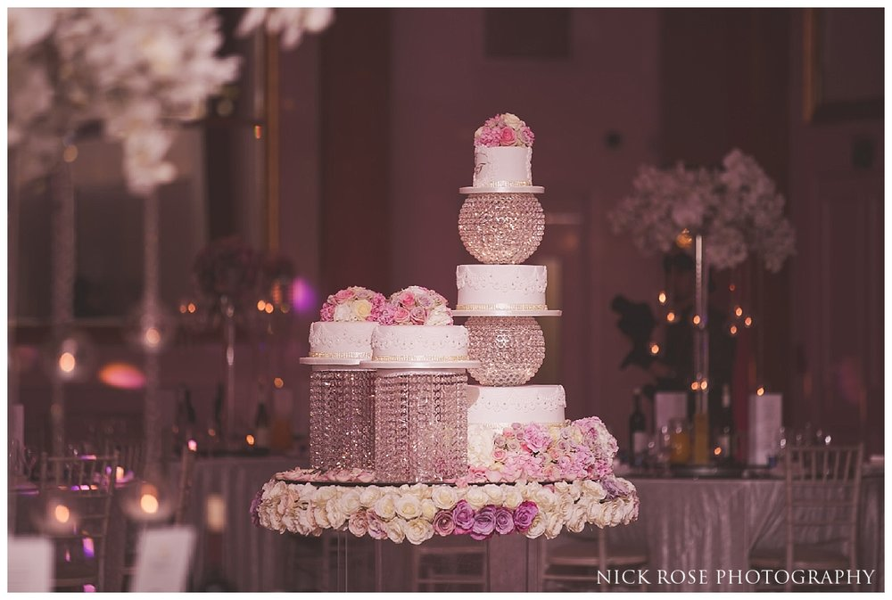 Asian wedding cake at Meridian Grand in London
