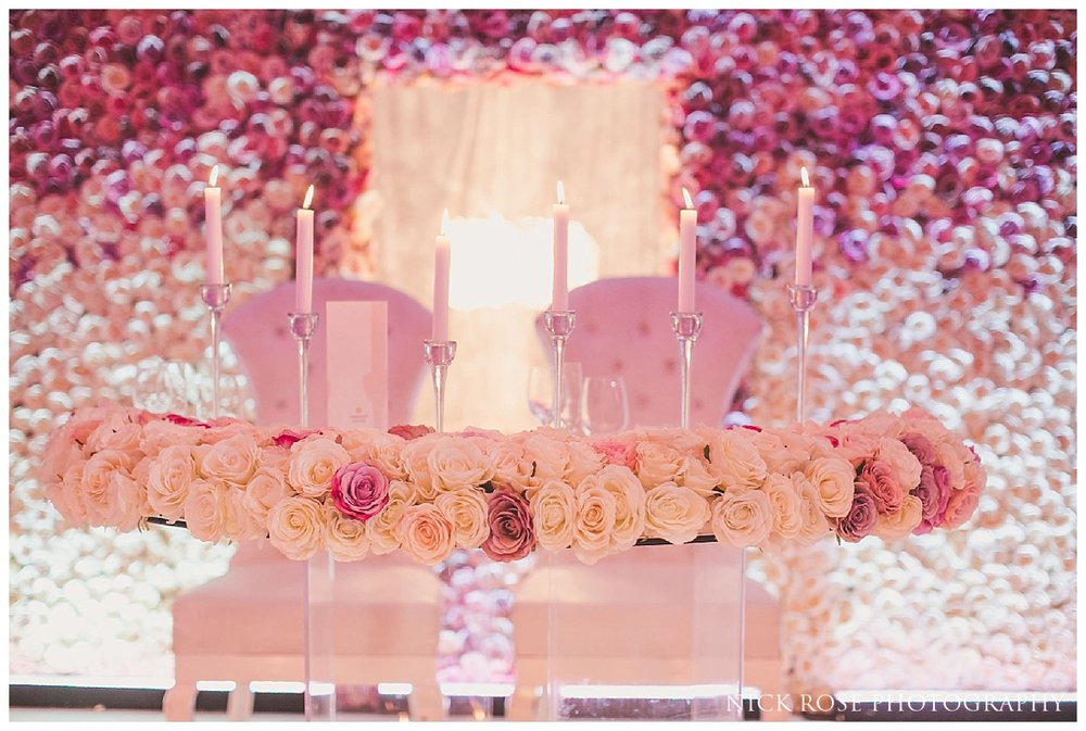 Meridian Grand wedding ballroom in London