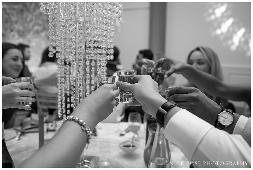 Wedding photography at the Meridian Grand in London