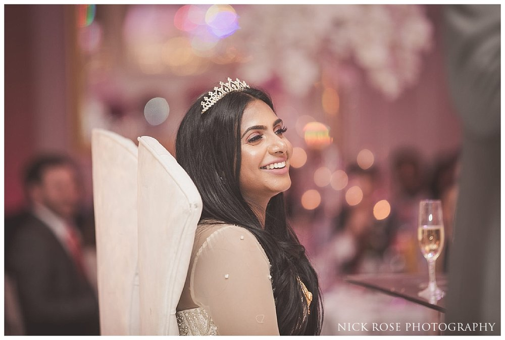 Asian wedding photography at the Meridian Grand in London