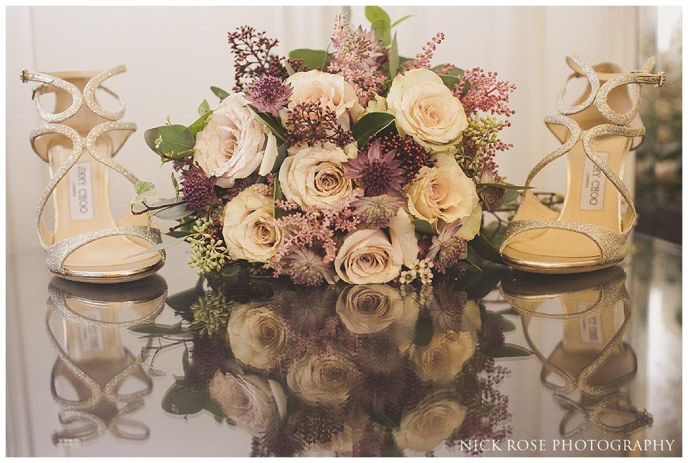 Bridal wedding flowers for a Dartmouth House Wedding in Mayfair