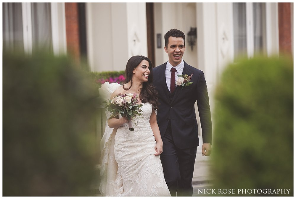 Bride and groom wedding photography at Dartmouth House in Mayfair