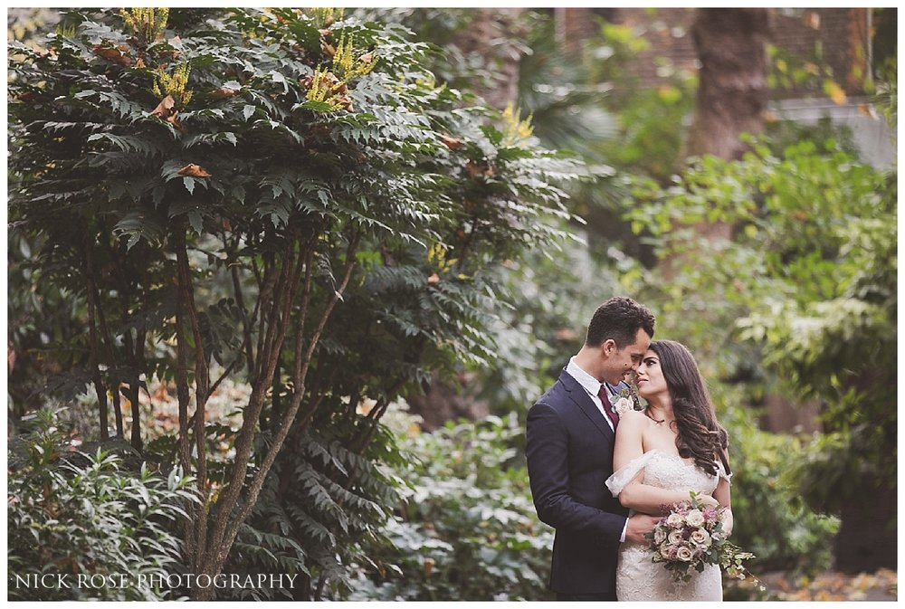 Romantic wedding photography at Dartmouth House in Mayfair by Nick Rose Photography