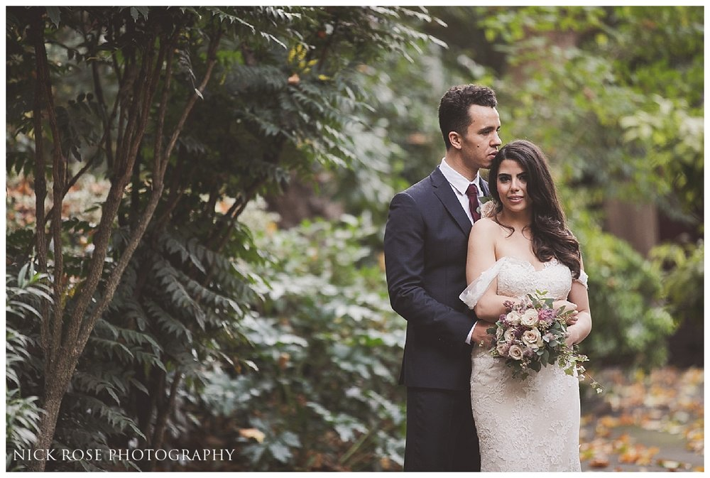 Autumn wedding photography at Dartmouth House in Mayfair by Nick Rose Photography