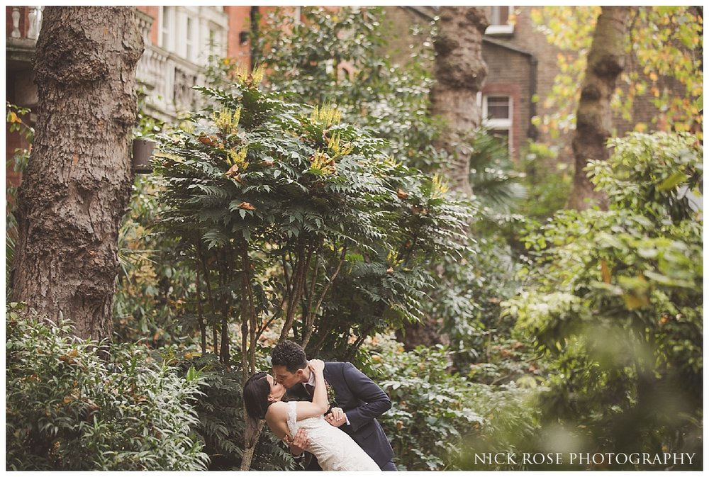Dartmouth House wedding photography in London