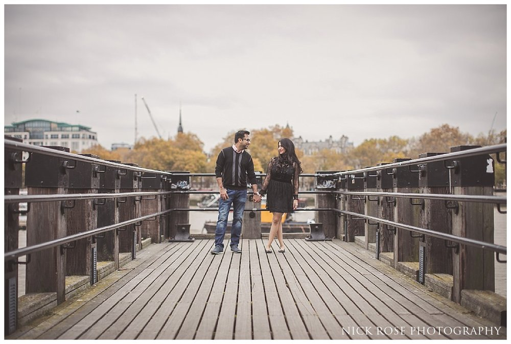 Pre wedding photography in Southbank London
