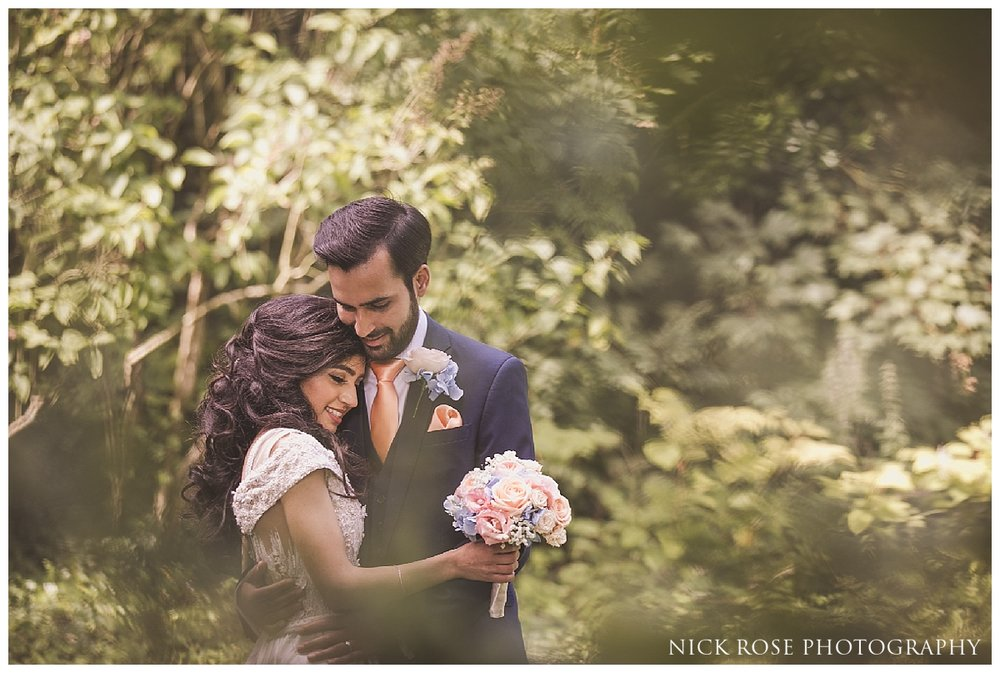 Asian wedding photography at the Dairy in Waddesdon Manor in Buckinghamshire