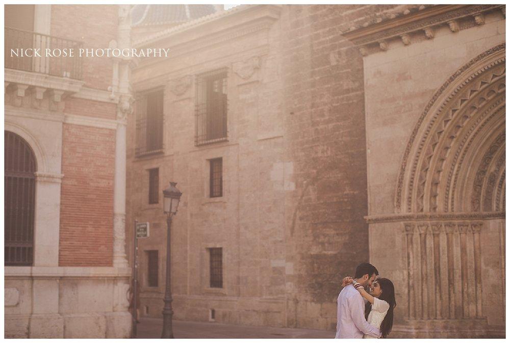 Destination pre wedding photography in Valencia, Spain