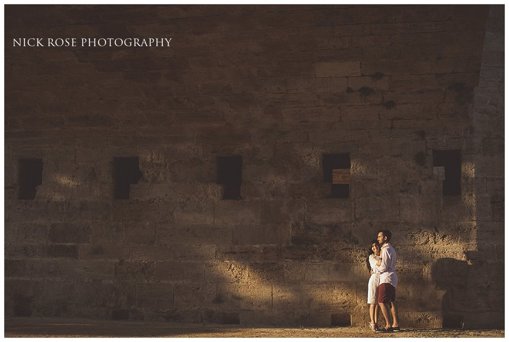 Destination Sikh pre wedding photography in the old town of Valencia, Spain