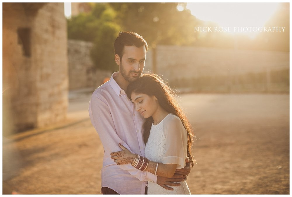 Spain sunset pre wedding photography in Valencia