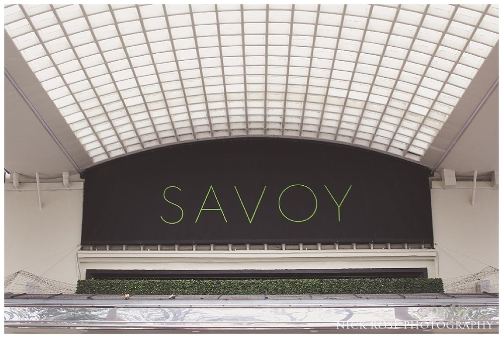 Savoy wedding photography London