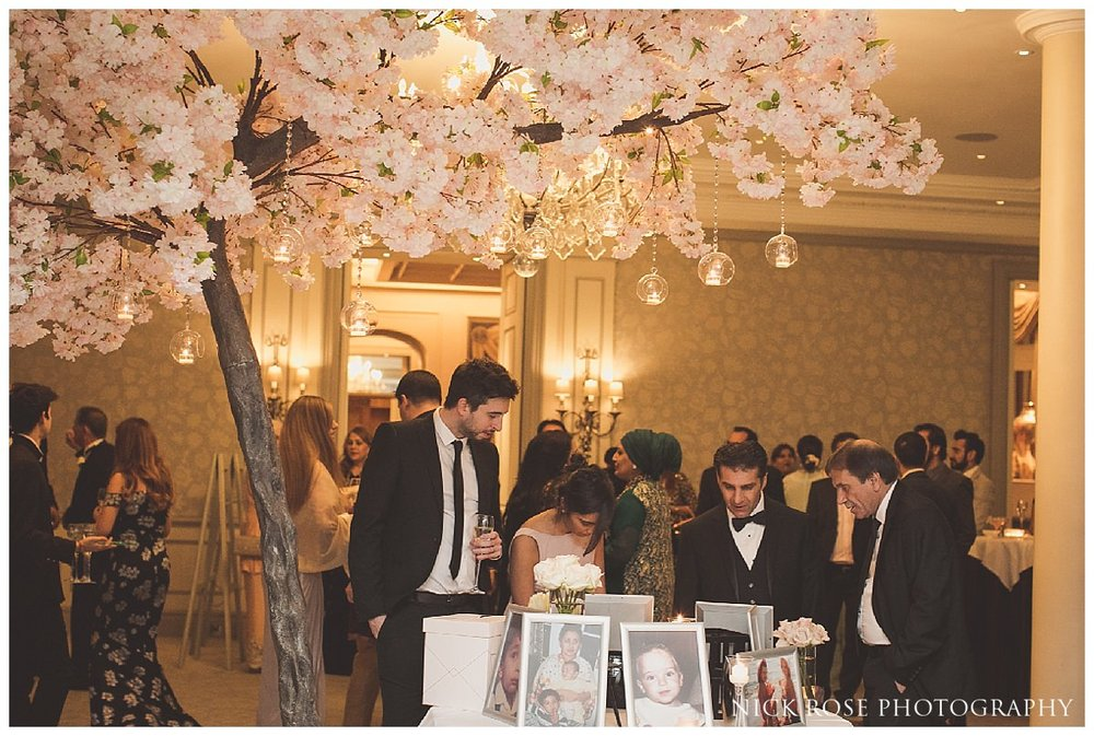 Wedding reception at The Savoy London