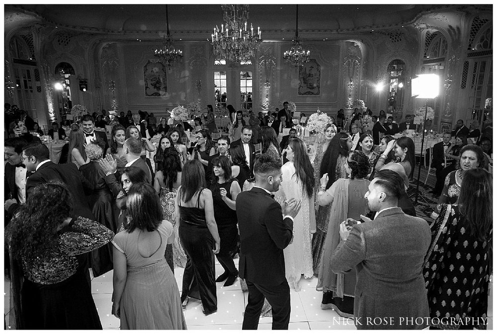 The Savoy London wedding reception dancing