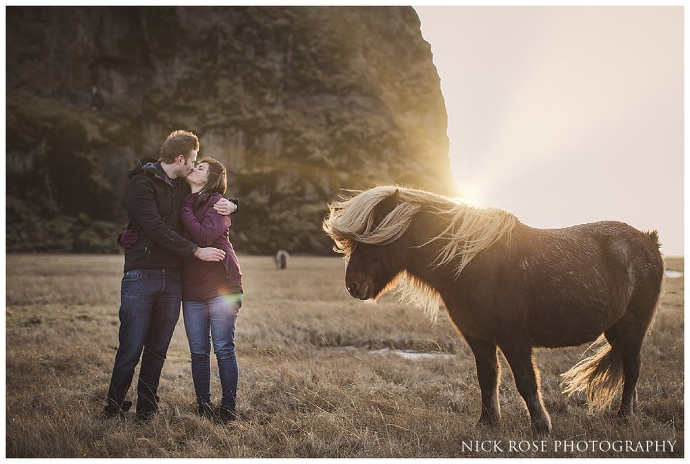 Destination pre wedding photography in Iceland