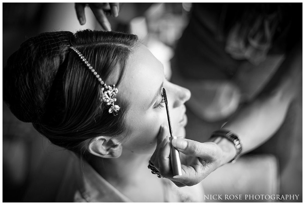 Hindu wedding photography at the Savoy Hotel in London