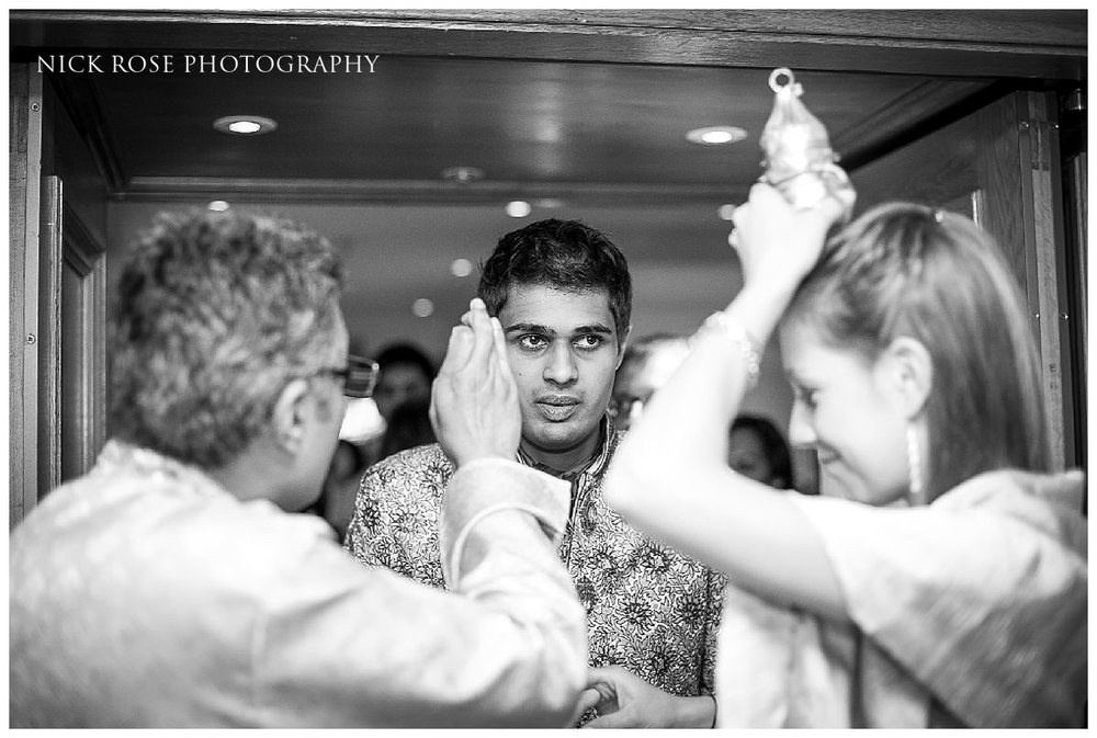 Hindu wedding ceremony at the Savoy Hotel in London