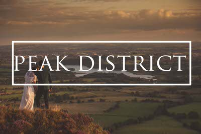 Peak District pre wedding photography UK countryside