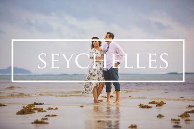 Seychelles destination pre wedding photography