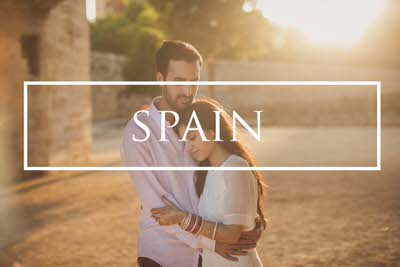 Destination pre wedding photography in Valencia Spain