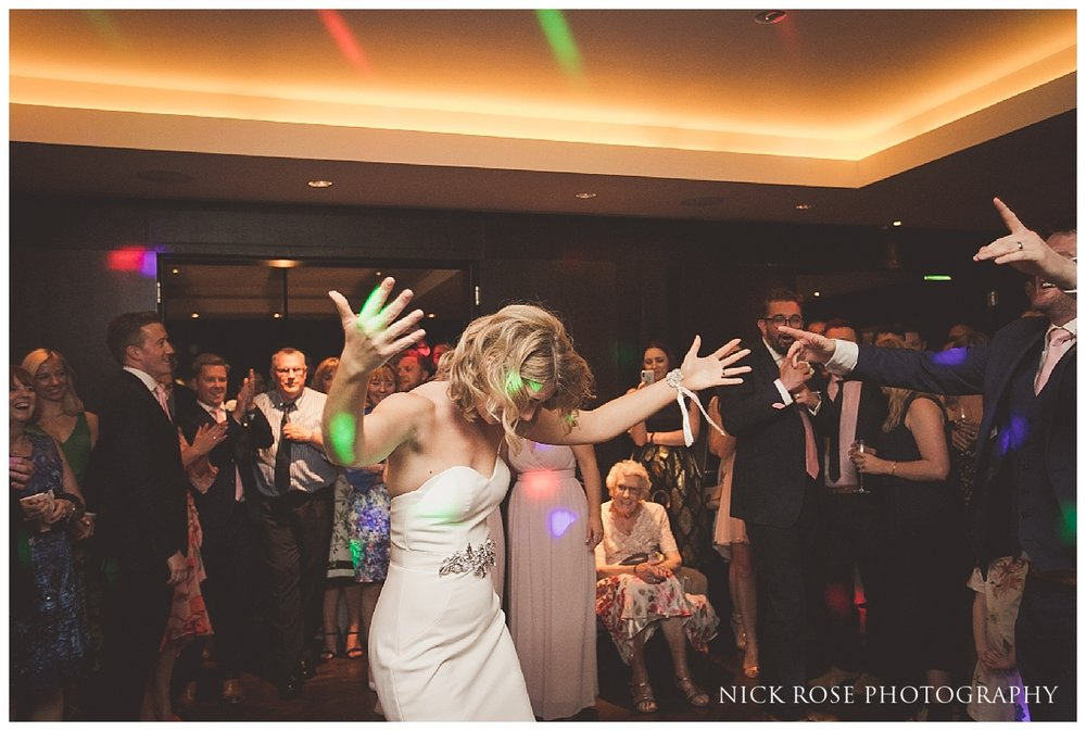 South Place Hotel Wedding reception dancing in London