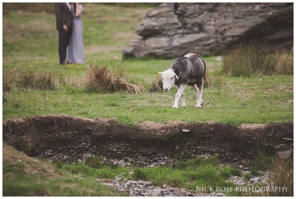 Pre wedding photography shoot in the Lake District National Park