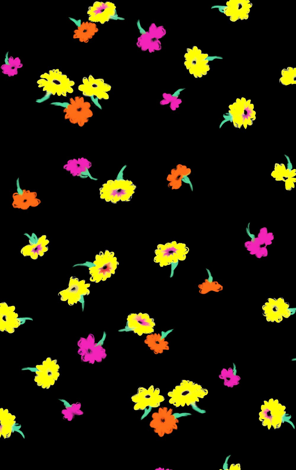 falling daisy-pinkyellow-isabelle ewing.jpg