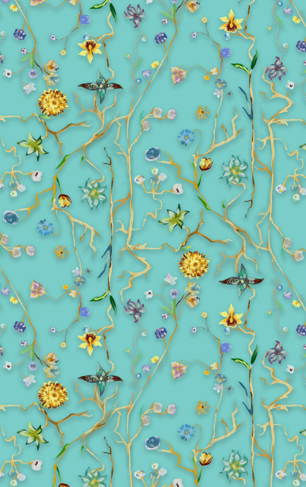 wall of flowers - blue.jpg