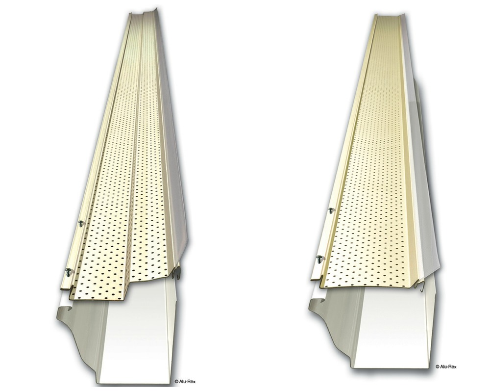 The alu-rex Gutter clean system is designed to ACCOMMODATE existing bracket screws/ brackets/nails