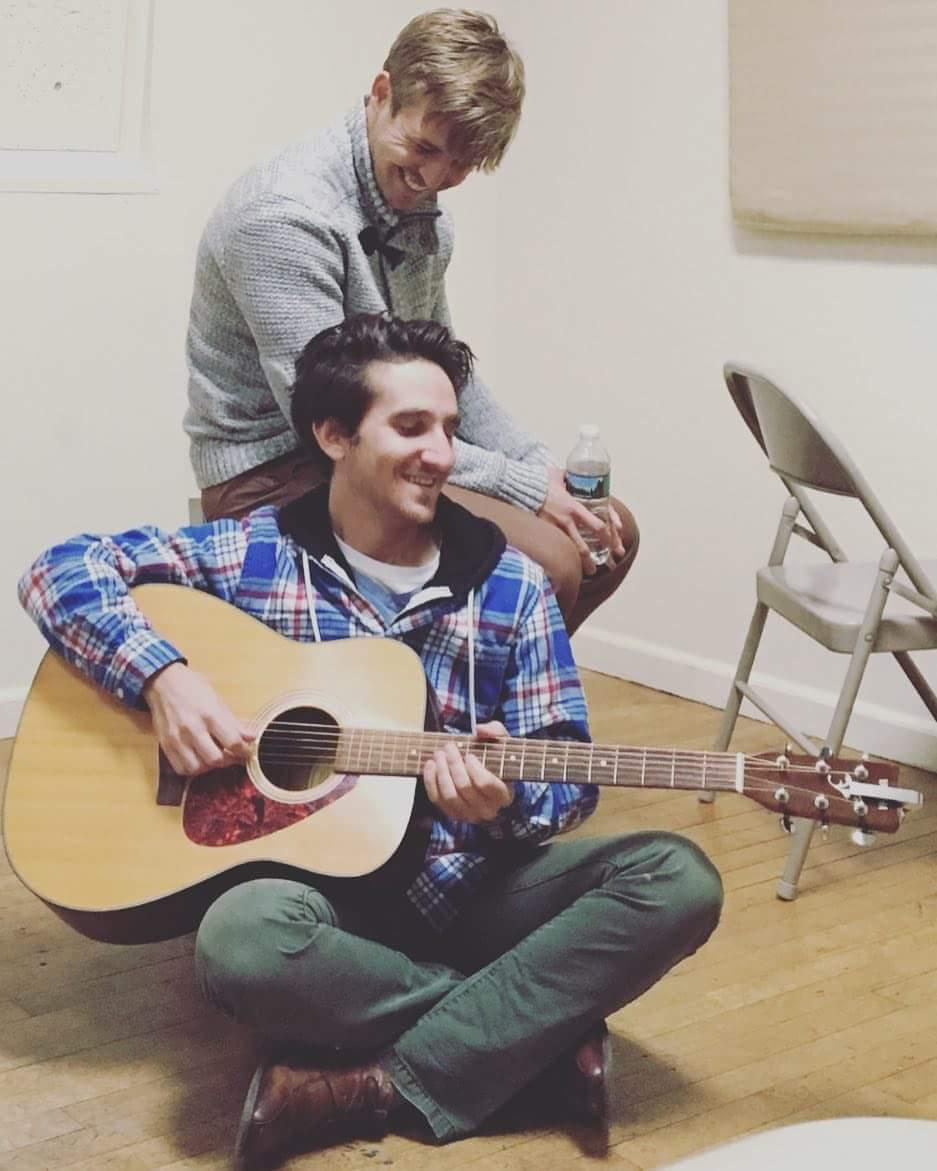Josh Trant and Peter Ferraiolo