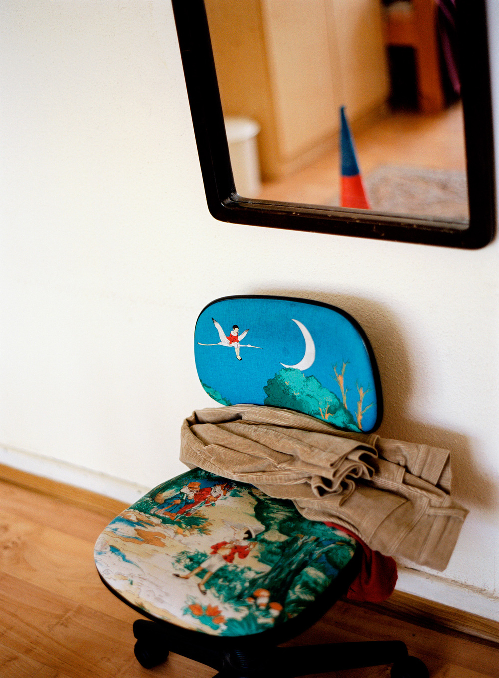 Chair with Pants, 2005