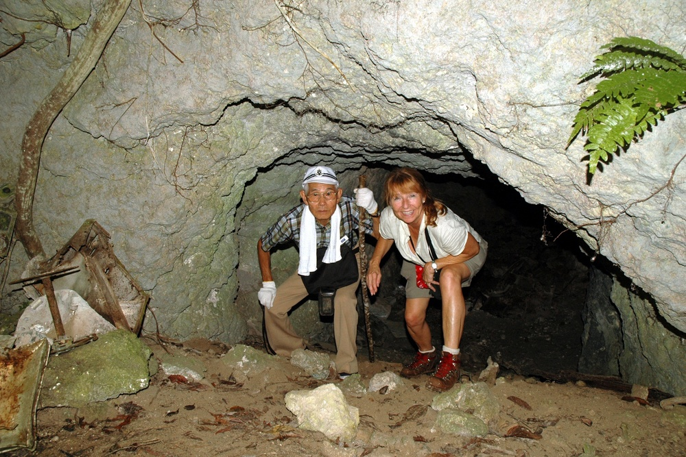 Tsuchida & me cave1.jpg