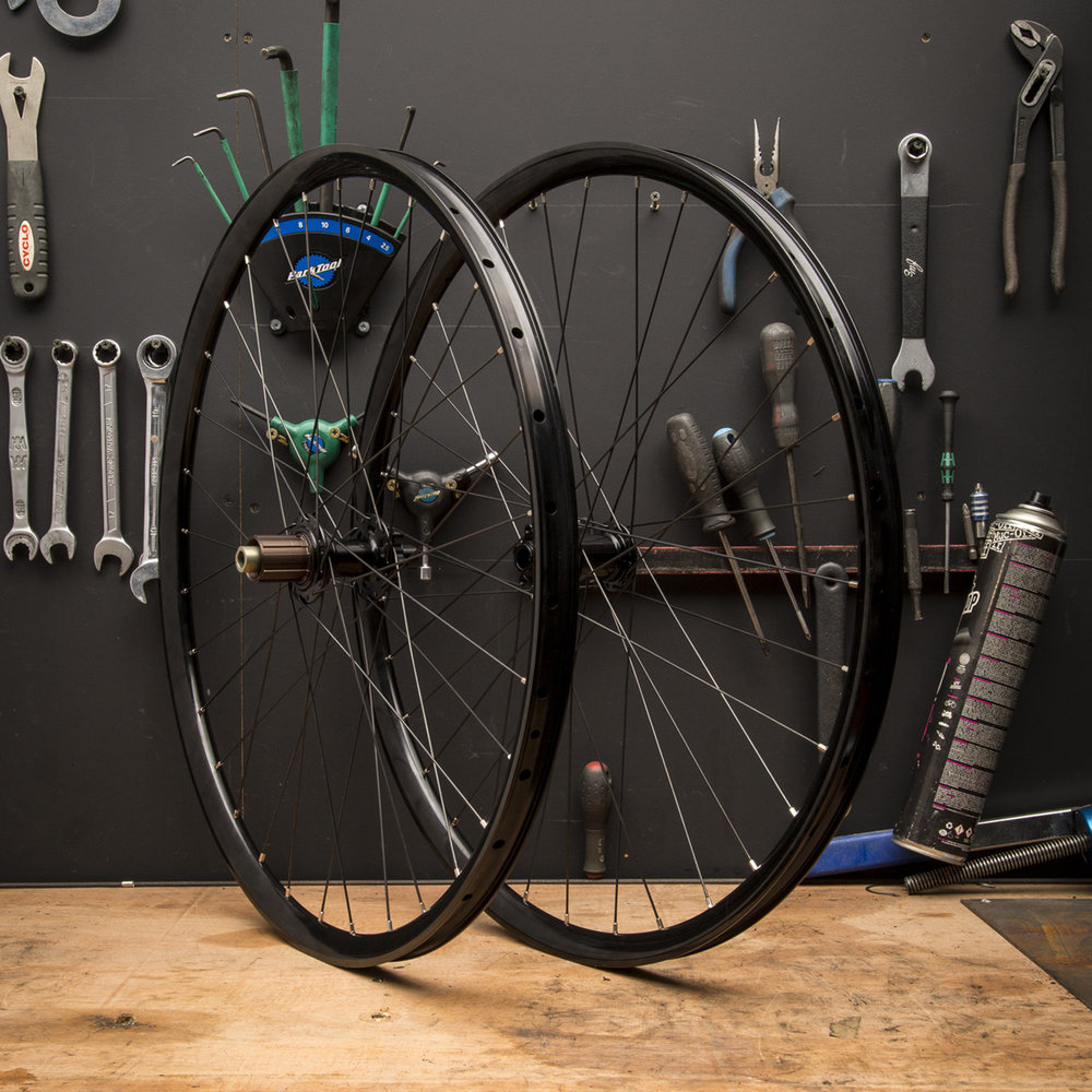 Custom Wheel Building - Hand built wheel sets in our Peckham Store