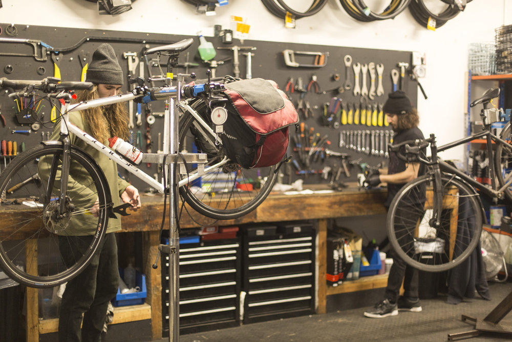 Servicing & Repairs - Everything from basic repairs to full bike services