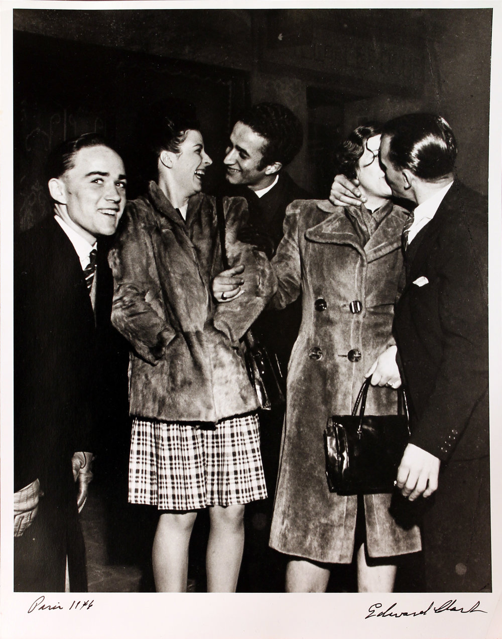 Kissing in Fur Coats, Ed Clark