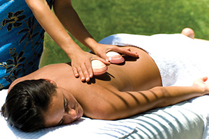 Lava Shell® Massage