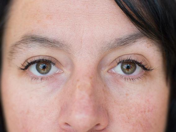 After Upper Eyeliner