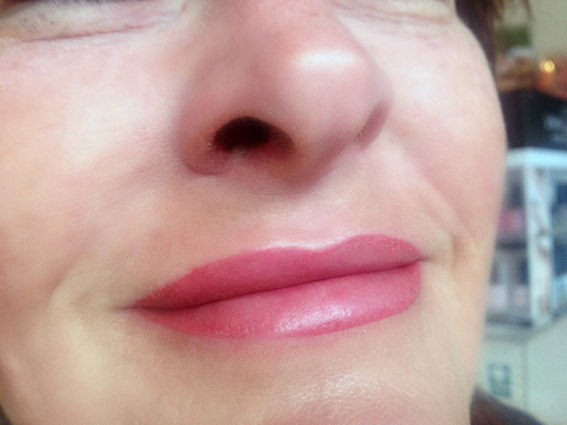 Full Lip Colour After