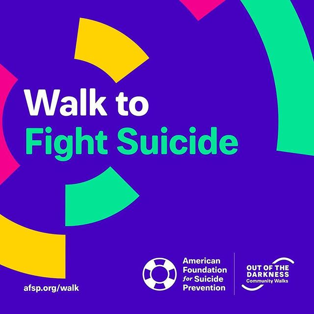 Next Saturday I will be participating in the AFSP's Out of the Darkness Walk here in Sacramento with my kids and my friend @rasslewriter. • This will be my first Out of the Darkness walk, and this cause is very, very important to me. Having lost a parent to suicide when I was very young, I know only too well how the effects tear through lives, and through generations. My three children will never know either of their grandfathers because of suicide. If we all stand together and continue to fight for prevention help we can hopefully make a real change. • If this is a cause that you are interested in please don't hesitate to sign up for a walk in your area and/or donate to the fundraiser for my walk. Follow the link in my bio for more information. Thank you!! • #suicideprevention #afsp #AFSPSacramento #StopSuicide #OutoftheDarkness #talkaboutit #suicide #mentalillnessawareness #fromtheinsidejade