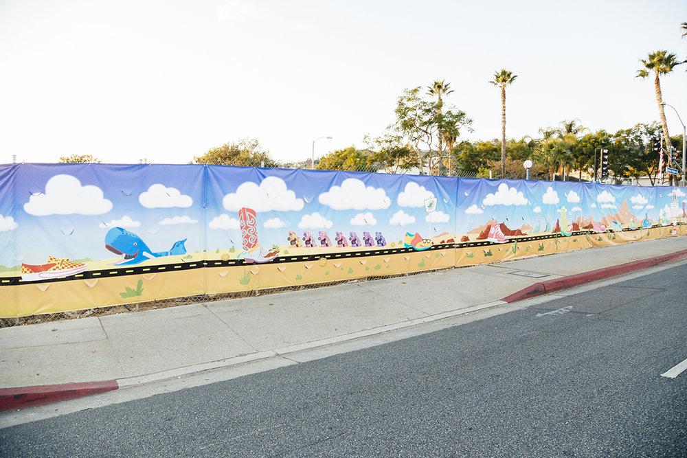 YoMeryl Mural Cadillac Ranch Detail