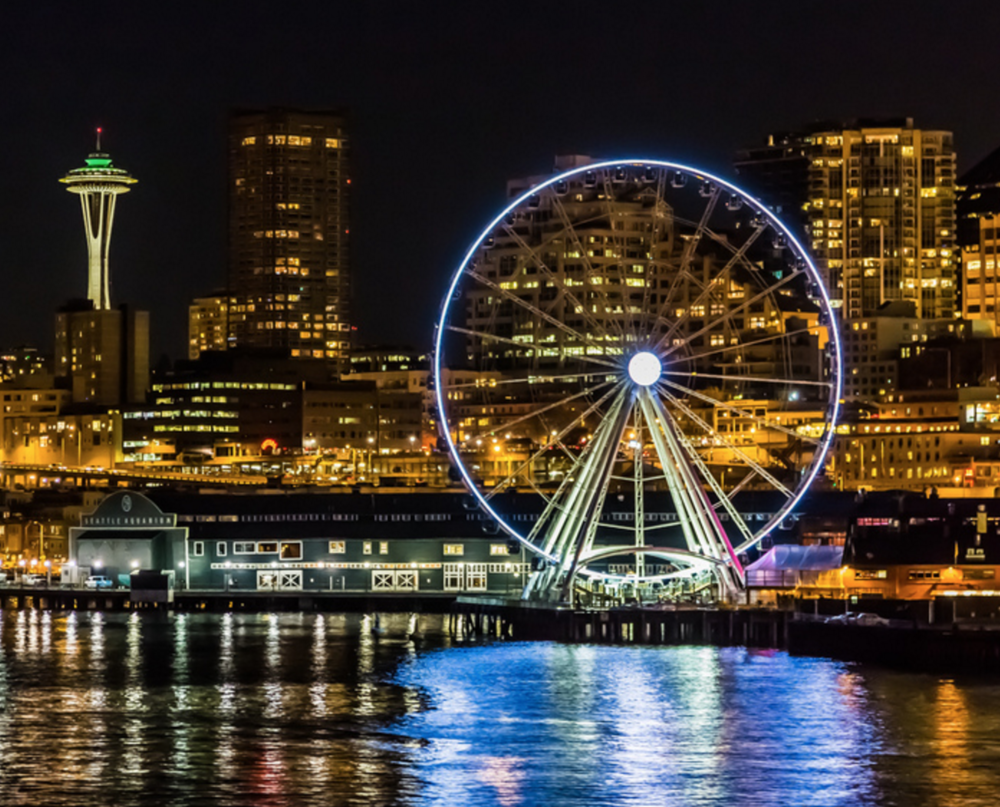 58,140 plastic bags on top of each other it would be as tall as Seattle's Great Wheel!
