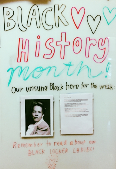 Black History Month at Lake Washington Girls Middle School