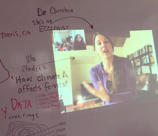 STEAM Speaker: Dr. Christina Restaino