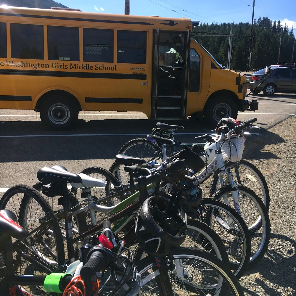 Lake Washington Girls Middle School Bike Camp 2019