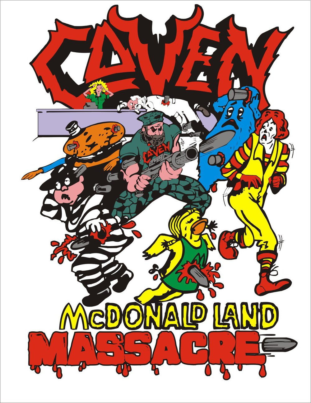 Coven - McDonald Land Massacre