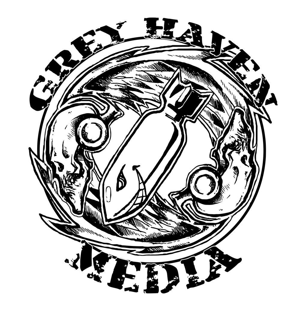 Grey Haven Media Bomber Black Logo