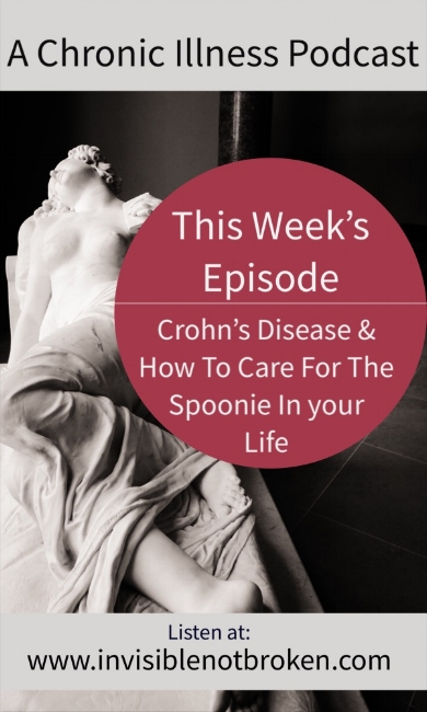 Chronic Illness Podcast: Relationships and Crohn's Disease