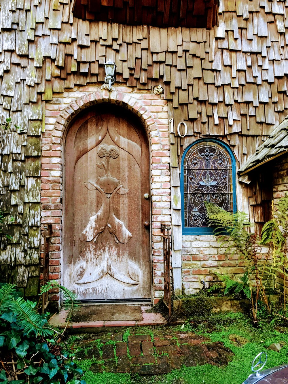 Twin Carved Whale Door Las Bolinas: Chronic Illness Blog