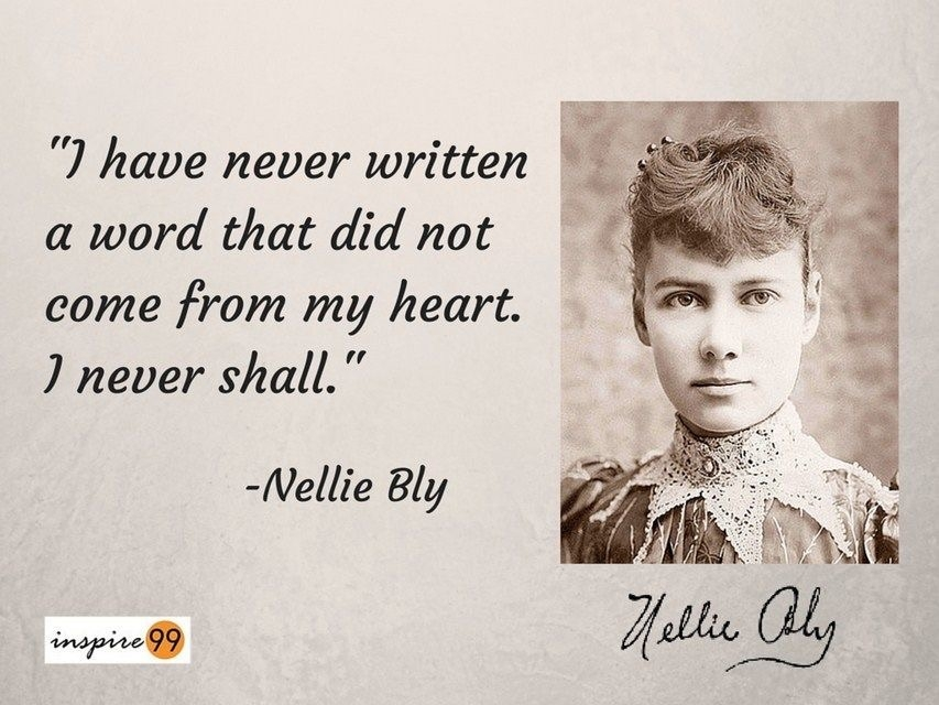 Nellie Bly Quote