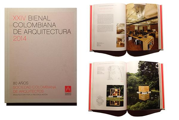 Oficinas Martinez Navas y Casa Desorientadaen la XXIV Bienal Colombiana de Arquitectura   2014
